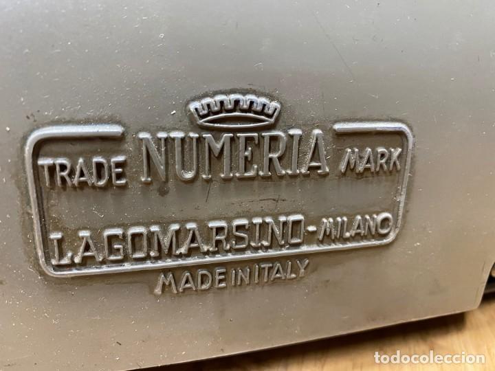 Antigüedades: Máquina de Cálculo Lagomarsino Numeria - Foto 3 - 255937200