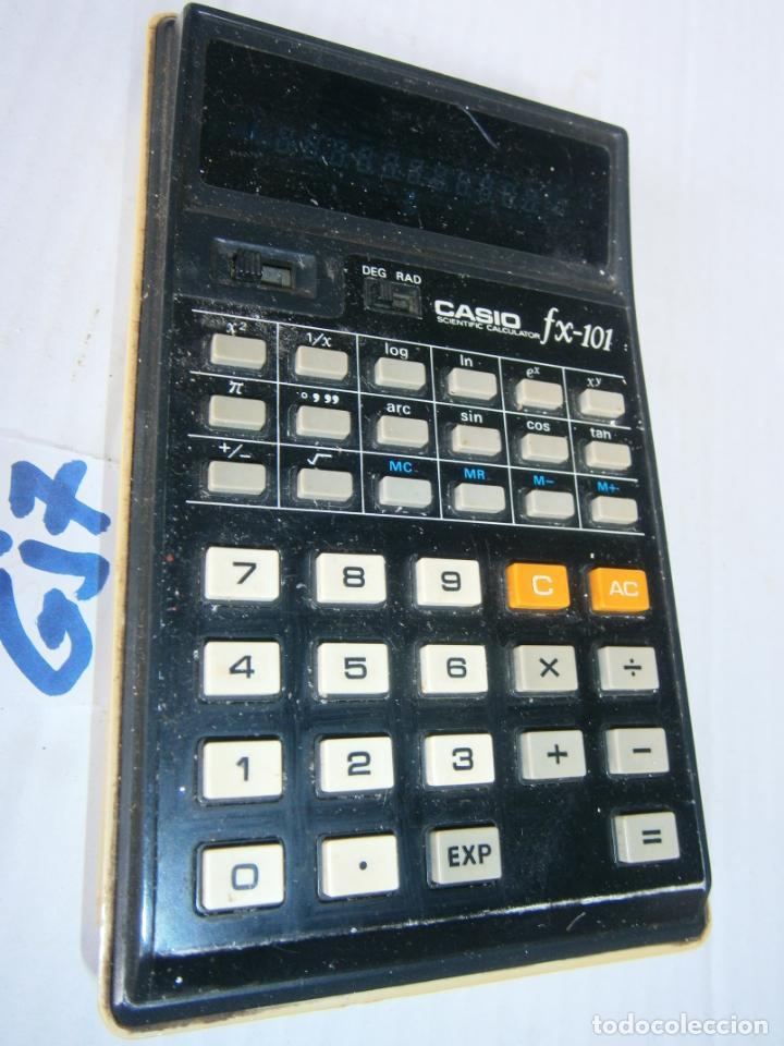ANTIGUA CALCULADORA CASIO MODEL FX-101 (Antigüedades - Técnicas - Aparatos de Cálculo - Calculadoras Antiguas)