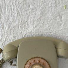 Teléfonos: ANTIGUO TELÉFONO HERALDO DE PARED VINTAGE COLOR BEIGE COMPAÑÍA NACIONAL DE TELEFONÍA. Lote 255976895
