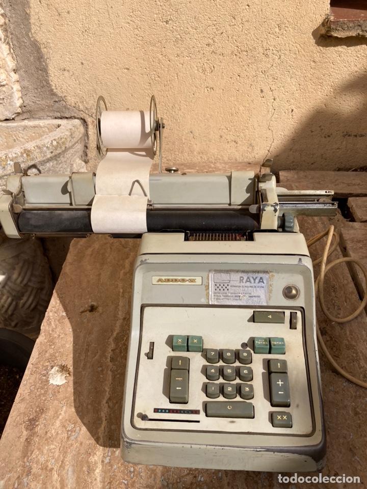 Antigüedades: Calculadora antigua de la marca sueca ADDO-X, de los años 40-50. - Foto 2 - 256014225