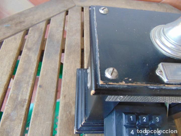 Teléfonos: ANTIGUO TELEFONO MARCADO POST BP DFE AP 300 , CON MANIVELA Y TECLADO OCULTO - Foto 4 - 256016720