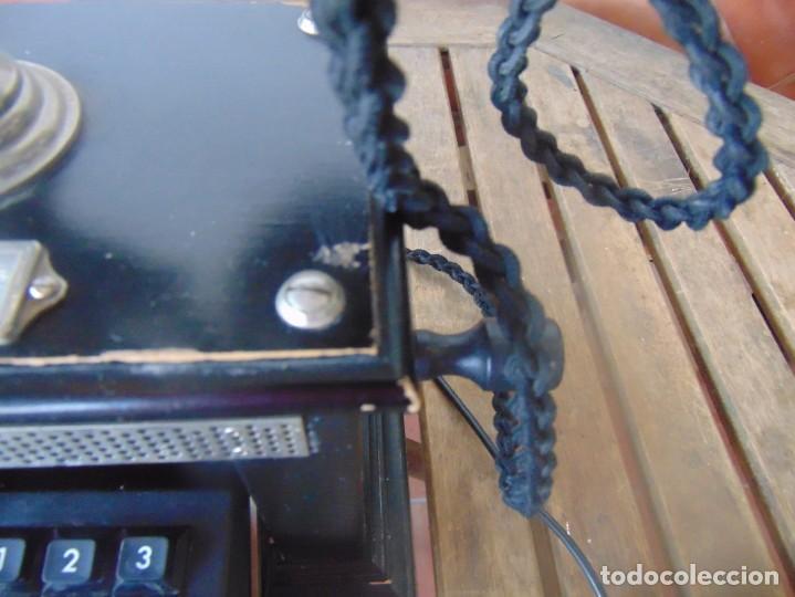 Teléfonos: ANTIGUO TELEFONO MARCADO POST BP DFE AP 300 , CON MANIVELA Y TECLADO OCULTO - Foto 5 - 256016720