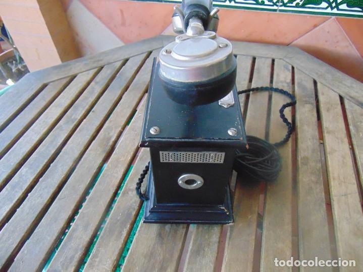 Teléfonos: ANTIGUO TELEFONO MARCADO POST BP DFE AP 300 , CON MANIVELA Y TECLADO OCULTO - Foto 9 - 256016720