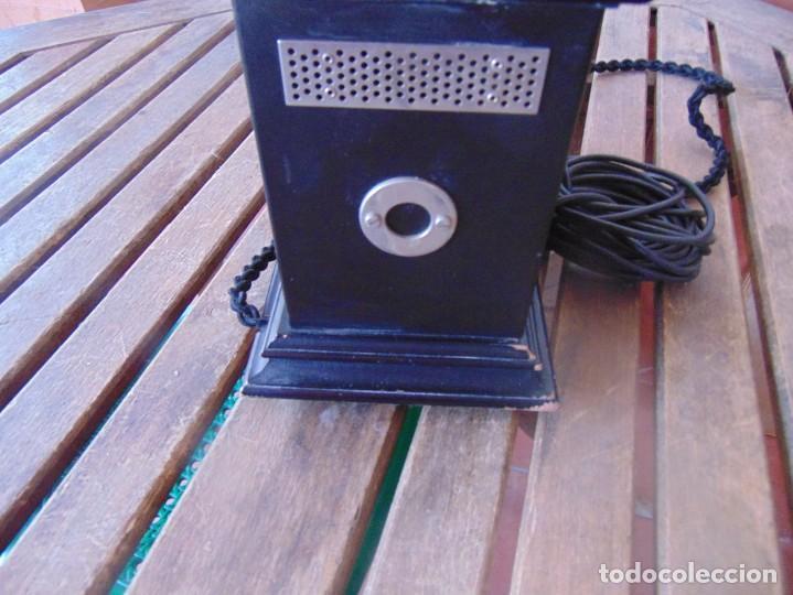 Teléfonos: ANTIGUO TELEFONO MARCADO POST BP DFE AP 300 , CON MANIVELA Y TECLADO OCULTO - Foto 10 - 256016720