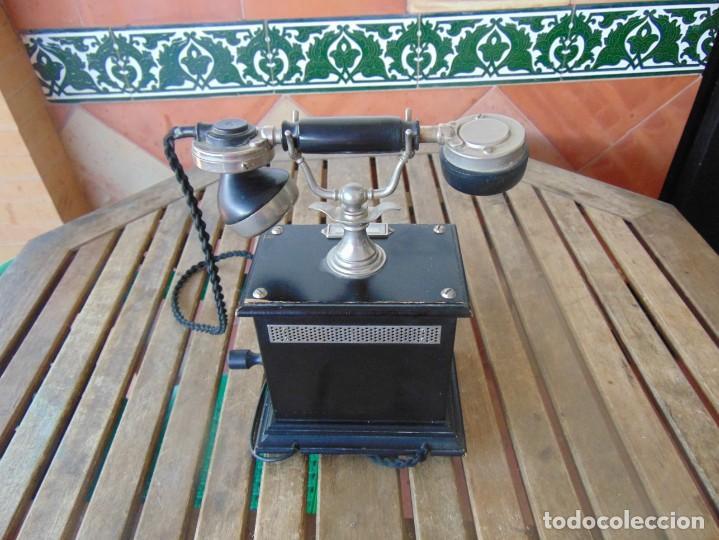 Teléfonos: ANTIGUO TELEFONO MARCADO POST BP DFE AP 300 , CON MANIVELA Y TECLADO OCULTO - Foto 11 - 256016720