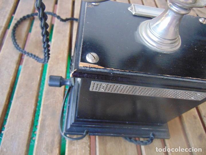 Teléfonos: ANTIGUO TELEFONO MARCADO POST BP DFE AP 300 , CON MANIVELA Y TECLADO OCULTO - Foto 13 - 256016720