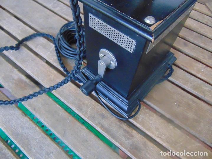 Teléfonos: ANTIGUO TELEFONO MARCADO POST BP DFE AP 300 , CON MANIVELA Y TECLADO OCULTO - Foto 14 - 256016720