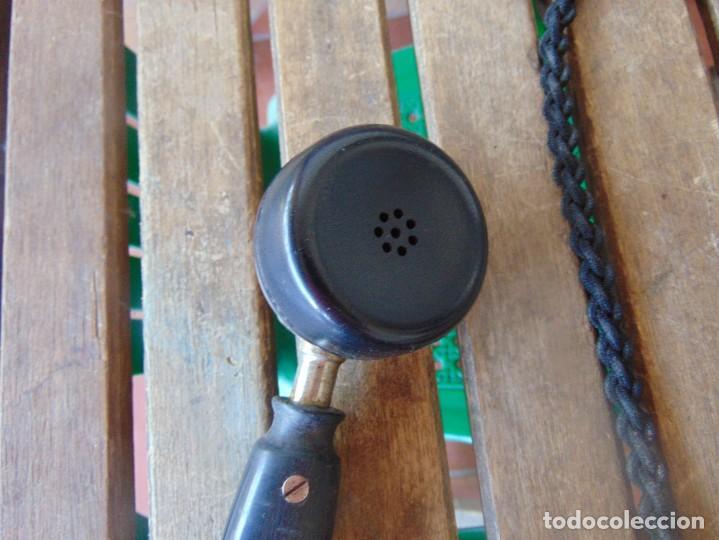 Teléfonos: ANTIGUO TELEFONO MARCADO POST BP DFE AP 300 , CON MANIVELA Y TECLADO OCULTO - Foto 17 - 256016720