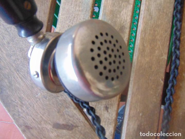 Teléfonos: ANTIGUO TELEFONO MARCADO POST BP DFE AP 300 , CON MANIVELA Y TECLADO OCULTO - Foto 18 - 256016720