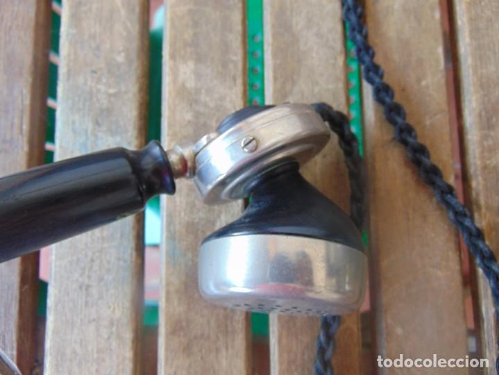Teléfonos: ANTIGUO TELEFONO MARCADO POST BP DFE AP 300 , CON MANIVELA Y TECLADO OCULTO - Foto 19 - 256016720
