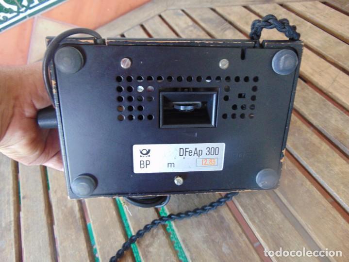 Teléfonos: ANTIGUO TELEFONO MARCADO POST BP DFE AP 300 , CON MANIVELA Y TECLADO OCULTO - Foto 24 - 256016720