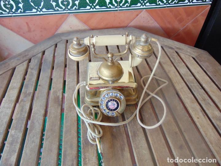 ANTIGUO TELEFONO MARCADO CITESA MALAGA 8000 AC NTE S- 40075 (Antigüedades - Técnicas - Teléfonos Antiguos)