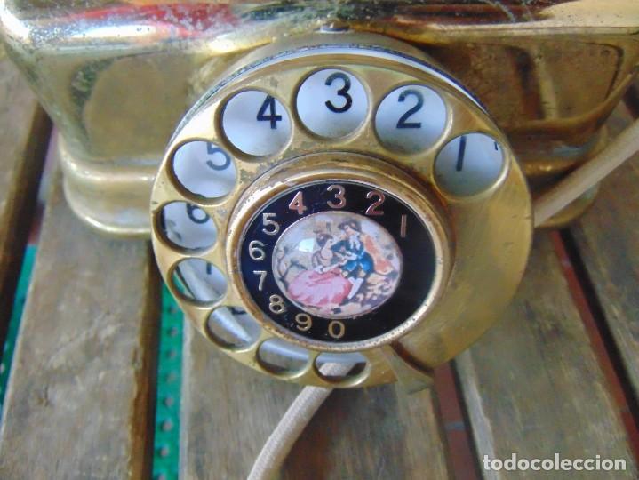 Teléfonos: ANTIGUO TELEFONO MARCADO CITESA MALAGA 8000 AC NTE S- 40075 - Foto 6 - 256017700