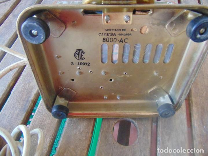 Teléfonos: ANTIGUO TELEFONO MARCADO CITESA MALAGA 8000 AC NTE S- 40075 - Foto 15 - 256017700