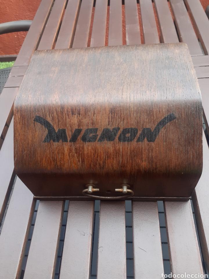 MÁQUINA ESCRIBIR MIGNON (Antigüedades - Técnicas - Máquinas de Escribir Antiguas - Mignon)