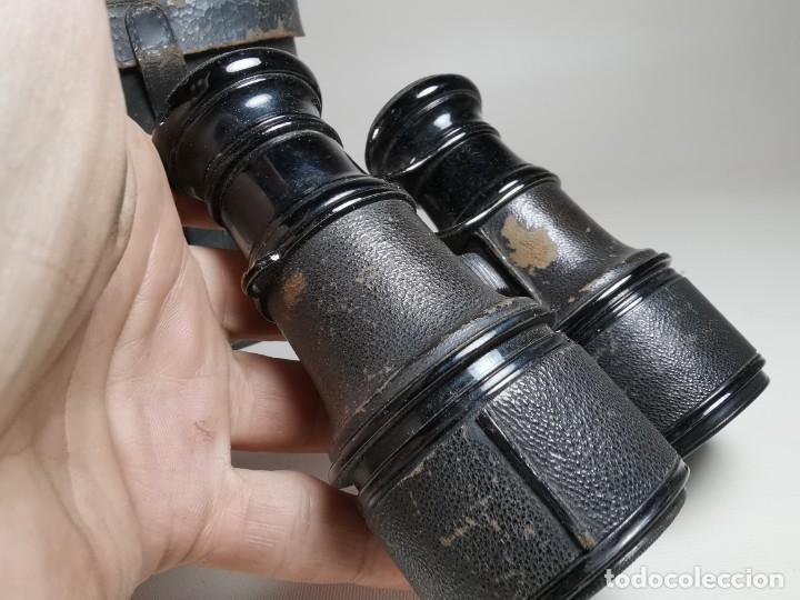 Antigüedades: ANTIGUOS BINOCULARES PRISMATICOS BRONCE SIN MARCAJE CIRCA 1900-----REF-MO - Foto 10 - 256060920
