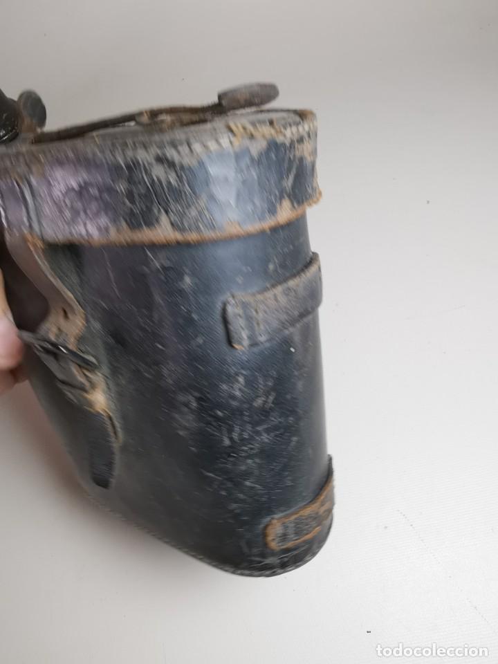 Antigüedades: ANTIGUOS BINOCULARES PRISMATICOS BRONCE SIN MARCAJE CIRCA 1900-----REF-MO - Foto 30 - 256060920