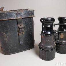Antigüedades: ANTIGUOS BINOCULARES PRISMATICOS BRONCE SIN MARCAJE CIRCA 1900-----REF-MO. Lote 256060920
