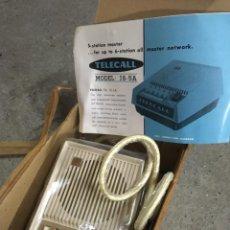 Antigüedades: INTERCOMUNICADOR TELECALL MOD. JS-5A, (JAPON). Lote 256074825