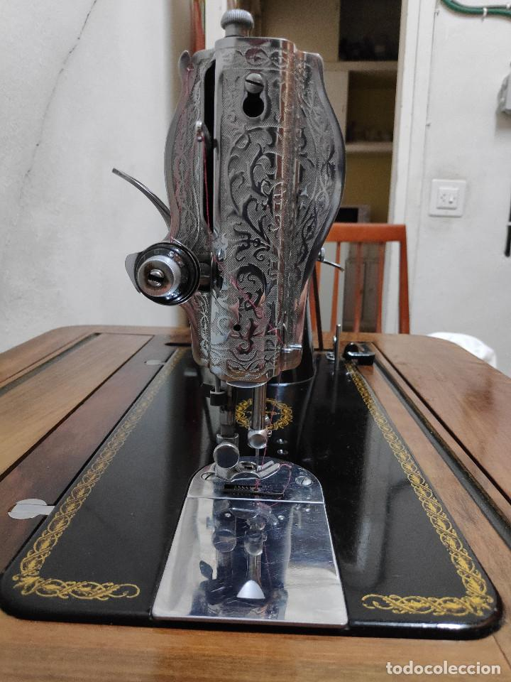 Antigüedades: Máquina coser Alfa - Foto 7 - 256079040