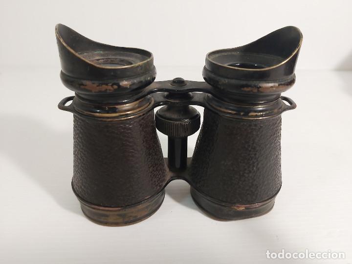 BINOCULARES DE TIPO MILITAR (Antigüedades - Técnicas - Instrumentos Ópticos - Binoculares Antiguos)