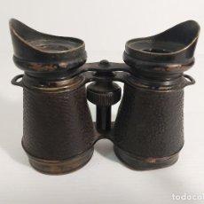 Antigüedades: BINOCULARES DE TIPO MILITAR. Lote 256119065