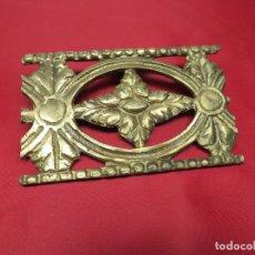 Antigüedades: EMBELLECEDOR BRONCE. Lote 256120835