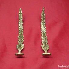 Antigüedades: EMBELLECEDOR IMPERIO BRONCE. Lote 256121040