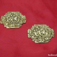 Antigüedades: EMBELLECEDORES BRONCE. Lote 256121405