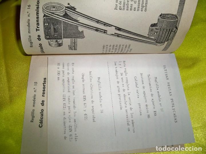 Antigüedades: Antiguo catálogo de reglas técnicas Gagma, para el cálculo rápido y para la publicidad industrial - Foto 2 - 256145175