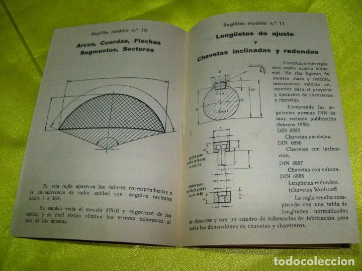 Antigüedades: Antiguo catálogo de reglas técnicas Gagma, para el cálculo rápido y para la publicidad industrial - Foto 3 - 256145175