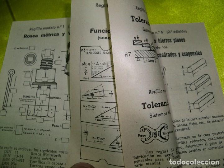 Antigüedades: Antiguo catálogo de reglas técnicas Gagma, para el cálculo rápido y para la publicidad industrial - Foto 5 - 256145175