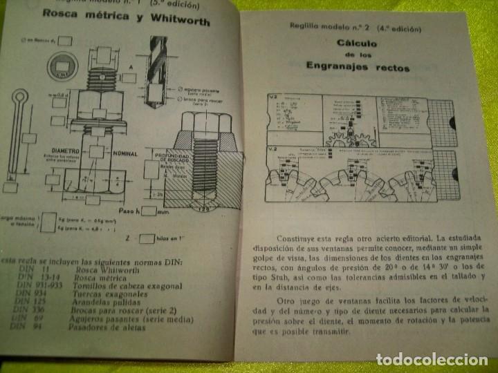 Antigüedades: Antiguo catálogo de reglas técnicas Gagma, para el cálculo rápido y para la publicidad industrial - Foto 6 - 256145175