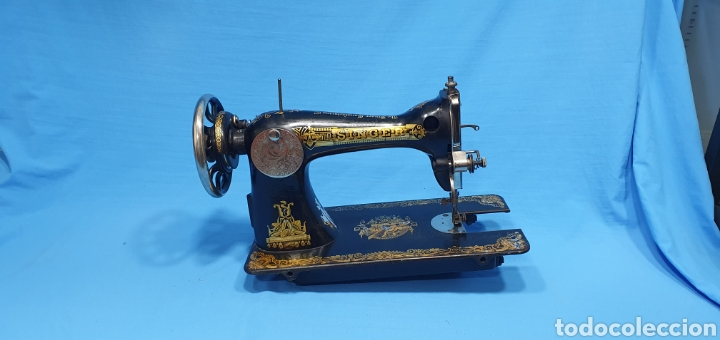 ANTIGUA MÁQUINA DE COSER SINGER (Antigüedades - Técnicas - Máquinas de Coser Antiguas - Singer)