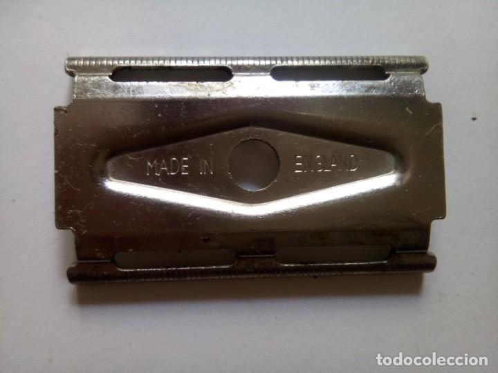 Antigüedades: Maquinilla afeitar Made in England - Foto 2 - 256167035