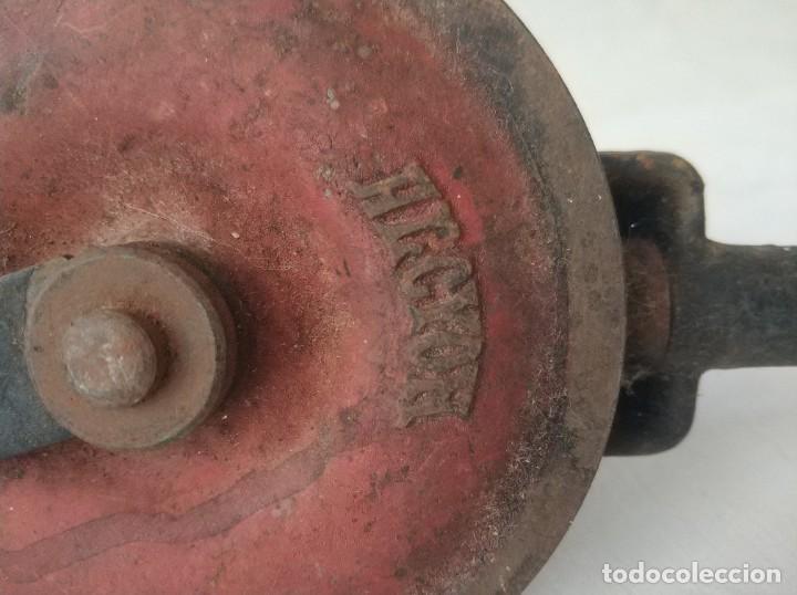 Antigüedades: Lote de dos taladros antiguos manuales - Foto 4 - 257276230