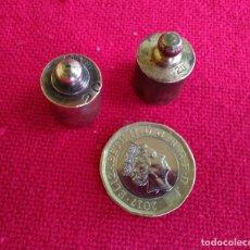 Antigüedades: PESAS DE BRONCE. Lote 257330645