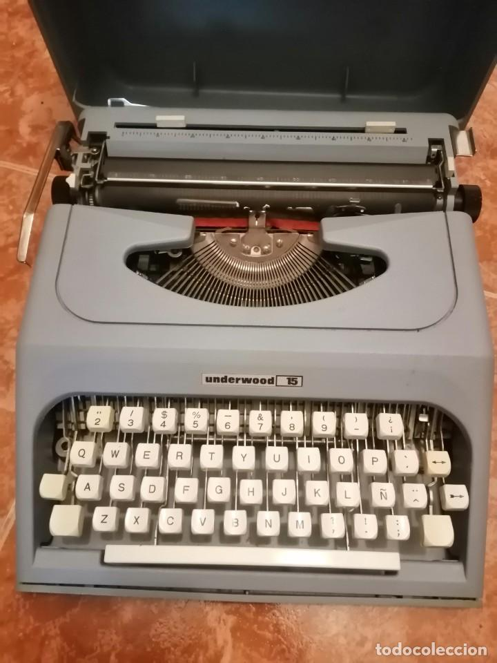 MAQUINA DE ESCRIBIR UNDERWOOD 15 (Antigüedades - Técnicas - Máquinas de Escribir Antiguas - Underwood)