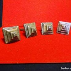 Antigüedades: 4 CLAVOS GRANDES DE BRONCE, SIGLO XVIII. Lote 257448130