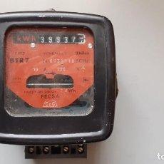 Antigüedades: CONTADOR ELECTRICO. Lote 257469120
