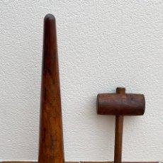 Antigüedades: ANTIGUO QUITA- NUDOS , BUREL MARINERO , DE LOS AÑOS 60. Lote 257587305