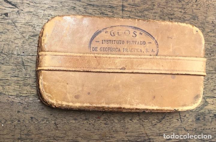 Antigüedades: PIEDRA ANTIGUA PROSPECCION INSTITUTO DE GEOFISICA GEOS. MADRID - Foto 2 - 257604750