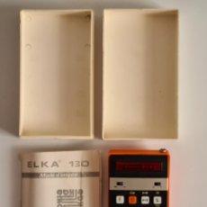 Antigüedades: CALCULADORA SOVIETICA ELKA 130 MINI ELECTRONIC CALCULATOR - MADE IN BULGARIA - URSS VINTAGE ED LIMIT. Lote 257476395