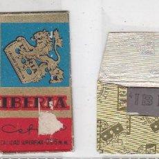 Antigüedades: FUNDA Y HOJA DE CUCHILLA DE AFEITAR ANTIGUA - IBERIA CEFINO 1,45 PTAS. Lote 257653350