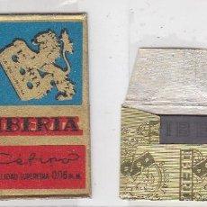 Antigüedades: FUNDA Y HOJA DE CUCHILLA DE AFEITAR ANTIGUA - IBERIA CEFINO 1,35 PTAS. Lote 257653720