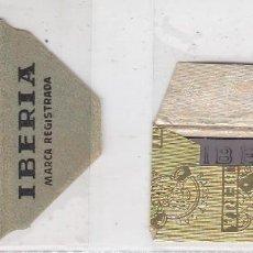 Antigüedades: FUNDA Y HOJA DE CUCHILLA DE AFEITAR ANTIGUA - IBERIA CEFINO. Lote 257653980