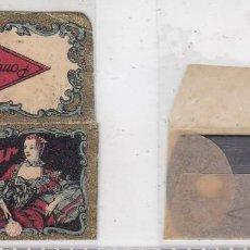 Antigüedades: FUNDA Y HOJA DE CUCHILLA DE AFEITAR ANTIGUA - POMPADOUR. Lote 257654370
