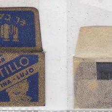 Antigüedades: FUNDA Y HOJA DE CUCHILLA DE AFEITAR ANTIGUA - EL CASTILLO. Lote 257654835