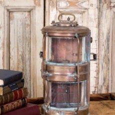 Antigüedades: FAROL ANTIGUO DE BARCO S.XIX. Lote 257659840