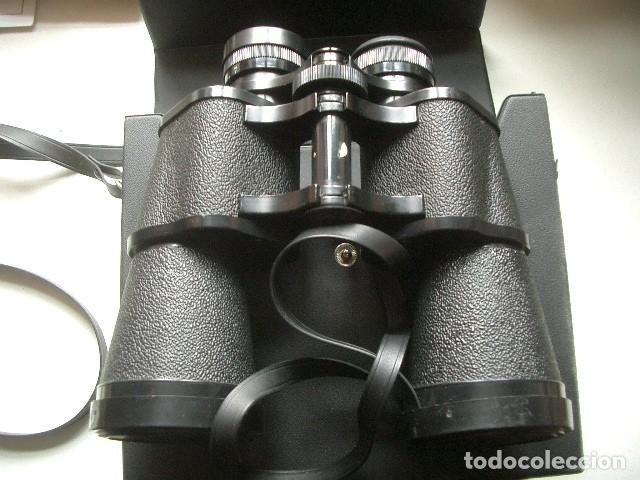 ANTIGUOS BINOCULARES PRISMÁTICOS DE MARCA SUPER ZENIT (Antigüedades - Técnicas - Instrumentos Ópticos - Binoculares Antiguos)